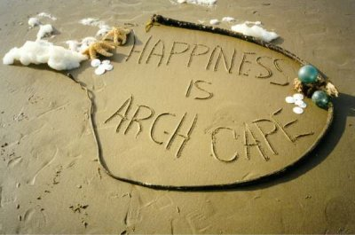 Happiness is Arch Cape