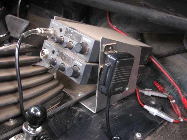 cb Radio Console The cb Radios Are Mounted on